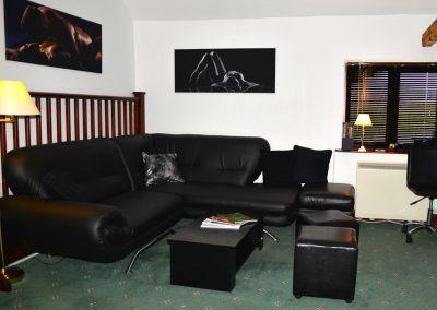 Chilmington Studios seating area