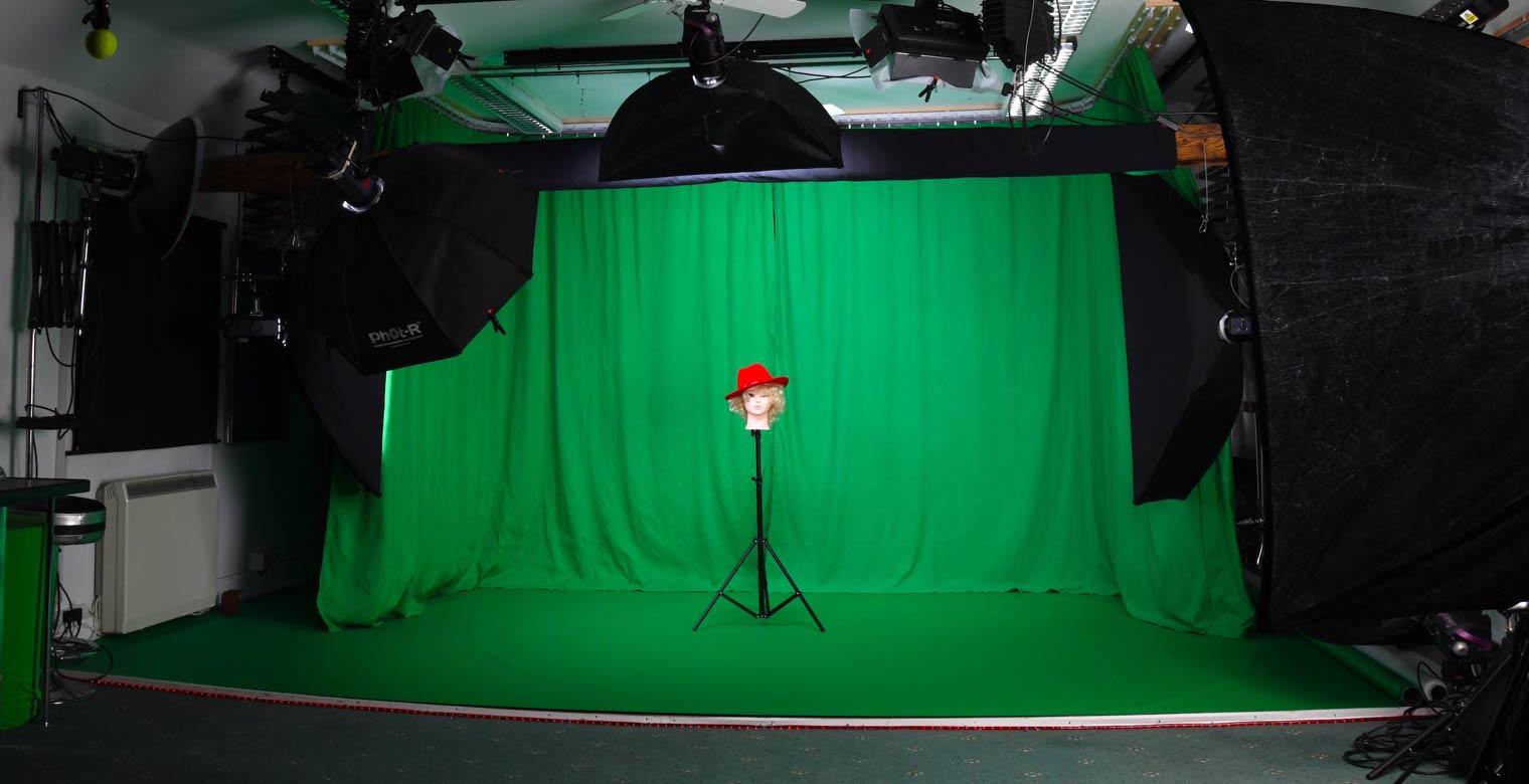 Green-Screen Set-Up